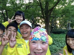 Osaka smiling kids